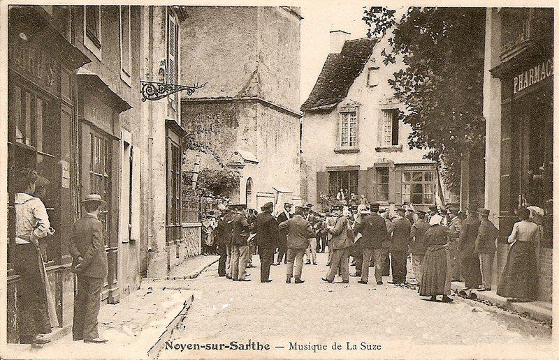 Histoire noyen sur sarthe for Garage noyen sur sarthe